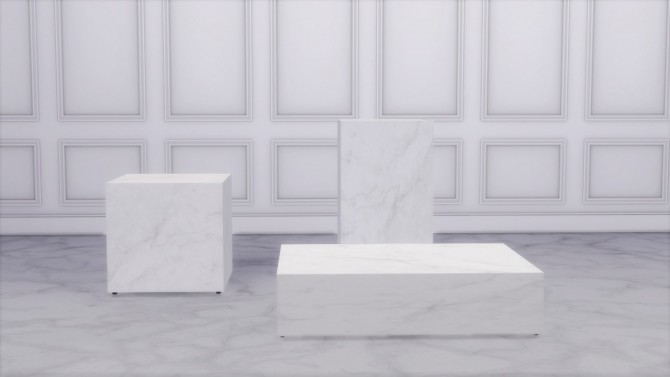 Sims 4 PLINTH COLLECTION at Meinkatz Creations
