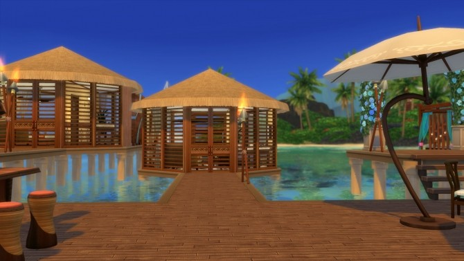 Sims 4 Sapphire Shores Resort by RayanStar at Mod The Sims