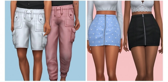Sims 4 AxA Spring Collection | 25 CAS Items at AHarris00Britney