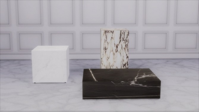 PLINTH COLLECTION at Meinkatz Creations image 1249 670x377 Sims 4 Updates