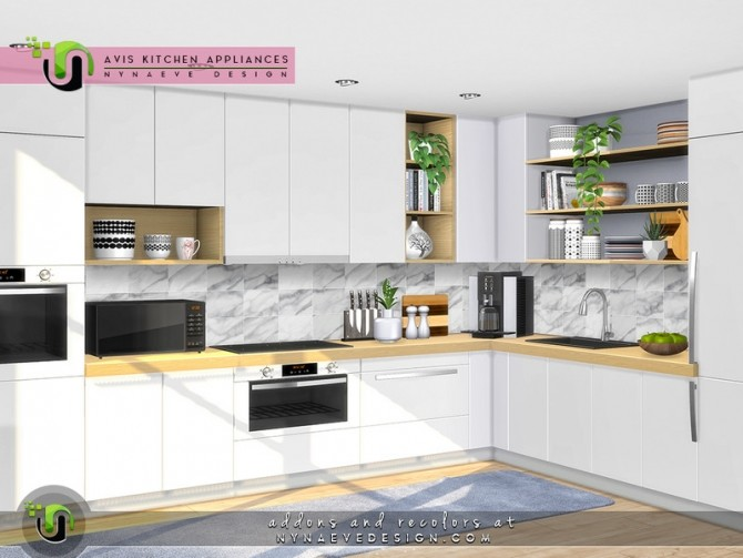 Avis Kitchen Appliances by NynaeveDesign at TSR image 125 670x503 Sims 4 Updates