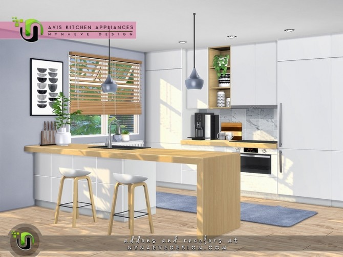 Avis Kitchen Appliances by NynaeveDesign at TSR image 126 670x503 Sims 4 Updates