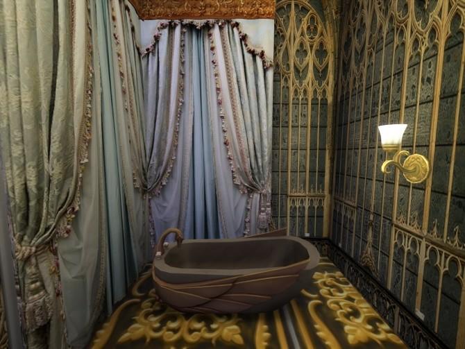Sims 4 Castle Walls Enchant at Anna Quinn Stories