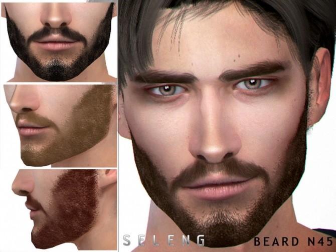 Sims 4 Beard N45 by Seleng at TSR