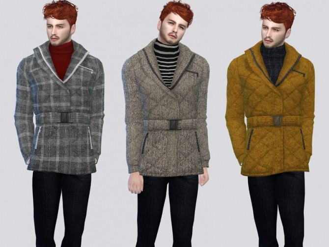 Dutch Cold Jacket by McLayneSims at TSR image 1290 670x503 Sims 4 Updates