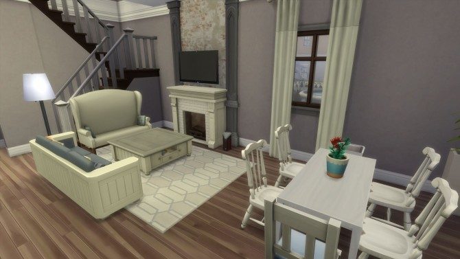 Sims 4 Twin Townhouses by RayanStar at Mod The Sims