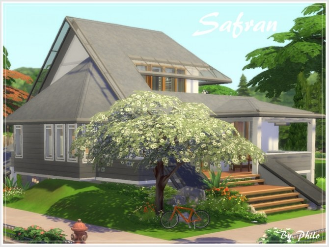 Safran house No CC by philo at TSR image 130 670x503 Sims 4 Updates
