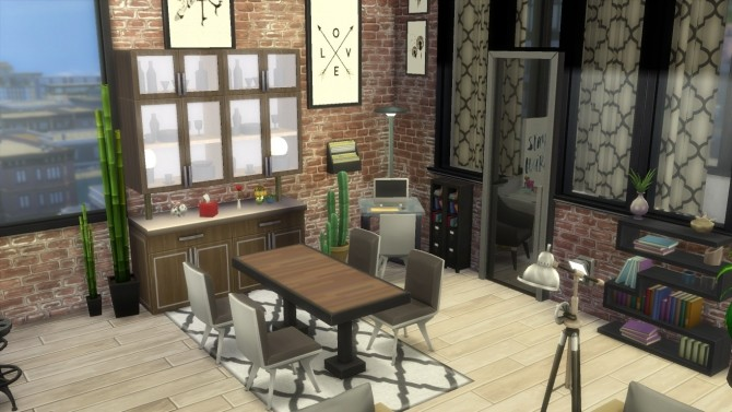 Cherry apartment by Falco at L'UniverSims image 13019 670x377 Sims 4 Updates