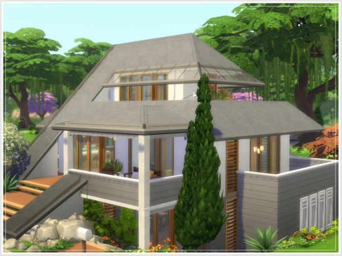 Safran house No CC by philo at TSR image 131 670x503 Sims 4 Updates