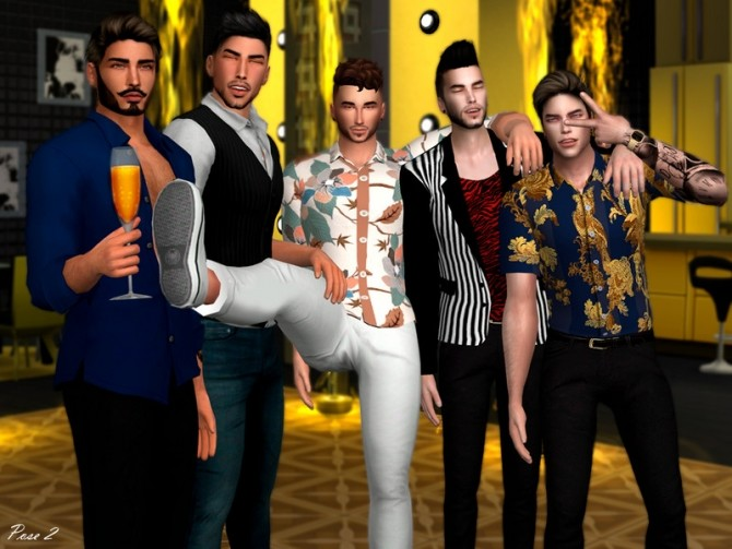 Sims 4 Team Millennials Pose Pack by Beto ae0 at TSR