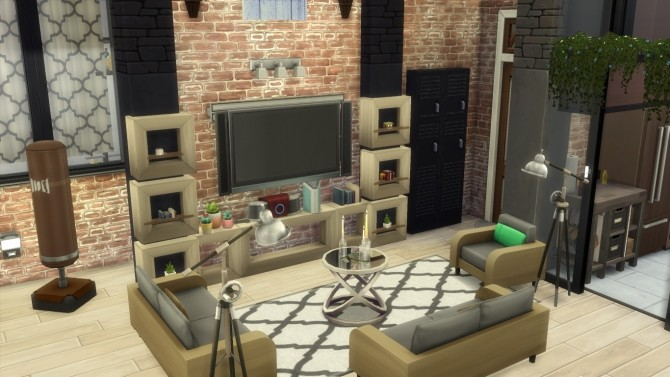 Cherry apartment by Falco at L'UniverSims image 13123 670x377 Sims 4 Updates