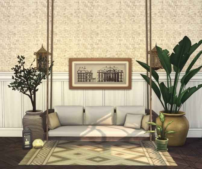 Porto 10 piece collection of wallpapers & floors at Harrie image 1319 670x561 Sims 4 Updates