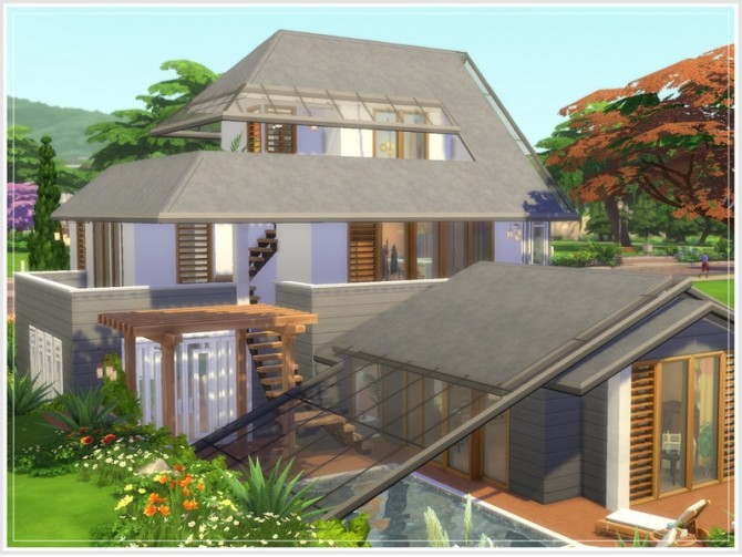 Safran house No CC by philo at TSR image 132 670x503 Sims 4 Updates