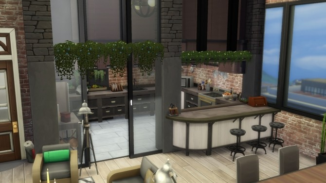 Cherry apartment by Falco at L'UniverSims image 13221 670x377 Sims 4 Updates
