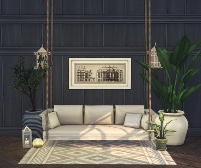 Porto 10 piece collection of wallpapers & floors at Harrie image 1335 670x561 Sims 4 Updates