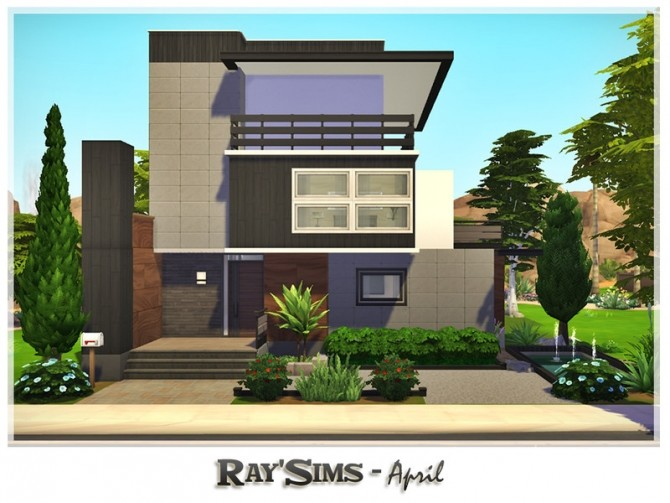 April house by Ray Sims at TSR image 134 670x503 Sims 4 Updates