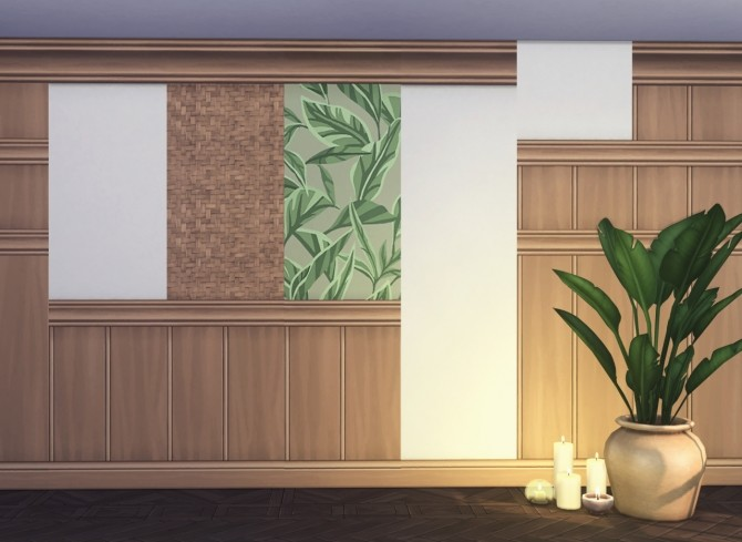 Porto 10 piece collection of wallpapers & floors at Harrie image 1344 670x489 Sims 4 Updates