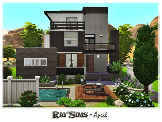 April house by Ray Sims at TSR image 135 670x503 Sims 4 Updates