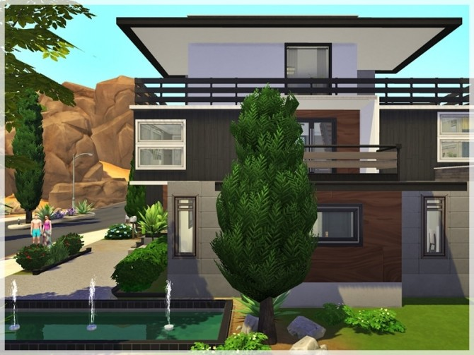 April house by Ray Sims at TSR image 136 670x503 Sims 4 Updates