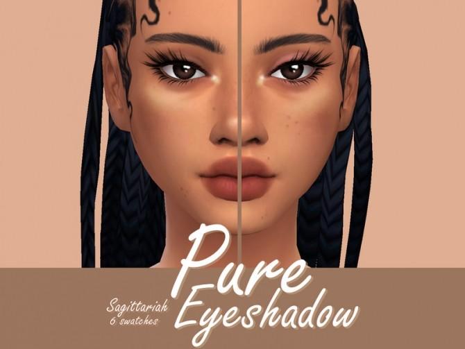 Sims 4 Pure Eyeshadow by Sagittariah at TSR