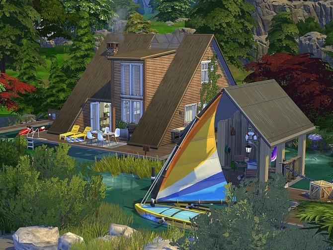 Summer Lake House by lotsbymanal at TSR image 14104 670x503 Sims 4 Updates