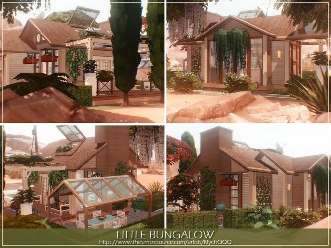 Little Bungalow by MychQQQ at TSR image 14223 670x503 Sims 4 Updates