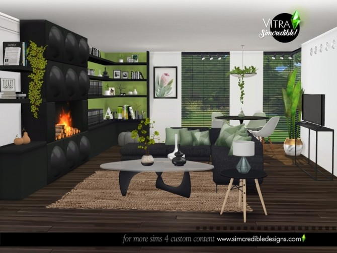 Vitra Living Room by SIMcredible at TSR image 14317 670x503 Sims 4 Updates