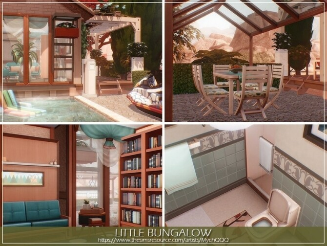 Little Bungalow by MychQQQ at TSR image 14321 670x503 Sims 4 Updates