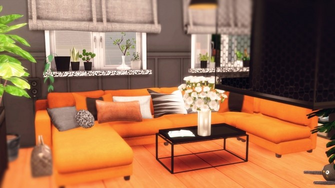 Sims 4 119   The Block house at SoulSisterSims