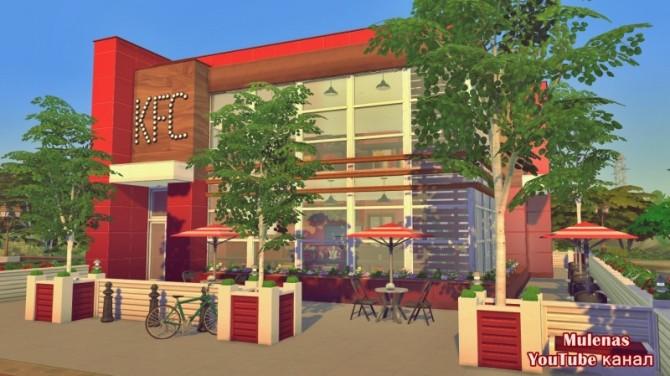 KFC restaurant at Sims by Mulena image 14419 670x376 Sims 4 Updates