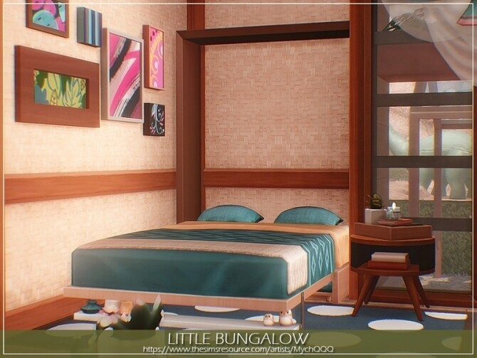Little Bungalow by MychQQQ at TSR image 14420 670x503 Sims 4 Updates