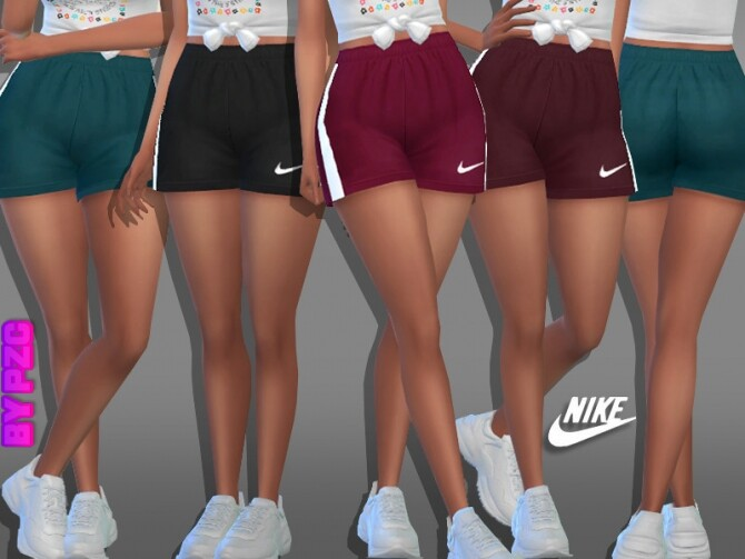 Athletic Shorts 981980 by Pinkzombiecupcakes at TSR image 14521 670x503 Sims 4 Updates
