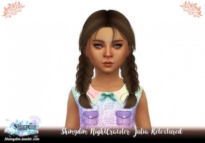 NightCrawler Julia Hair Retexture + Child Naturals + Unnaturals at Shimydim Sims image 14611 670x468 Sims 4 Updates