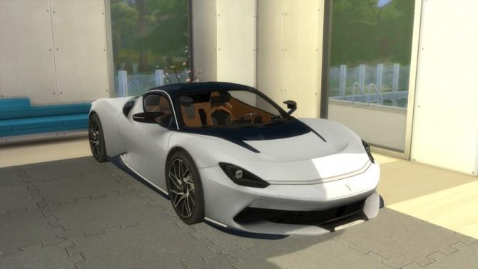 Sims 4 Pininfarina Battista at LorySims
