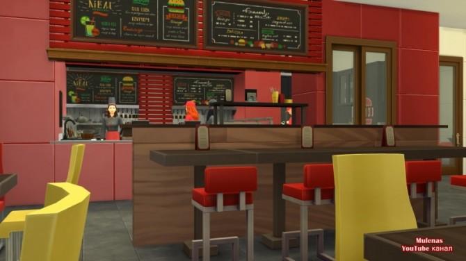 KFC restaurant at Sims by Mulena image 14719 670x376 Sims 4 Updates