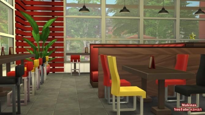 KFC restaurant at Sims by Mulena image 14818 670x376 Sims 4 Updates