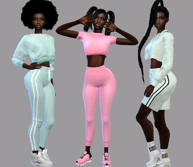 Sims 4 April Sport Set at Teenageeaglerunner