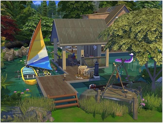 Summer Lake House by lotsbymanal at TSR image 15101 670x503 Sims 4 Updates