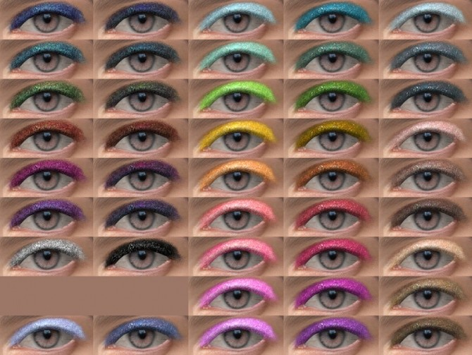 Sims 4 Eyeshadow 10 Stardust HQ at Alf si