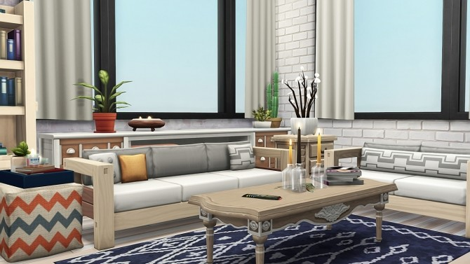 ONE APARTMENT FOR TWO FAMILIES at Aveline Sims image 15116 670x377 Sims 4 Updates
