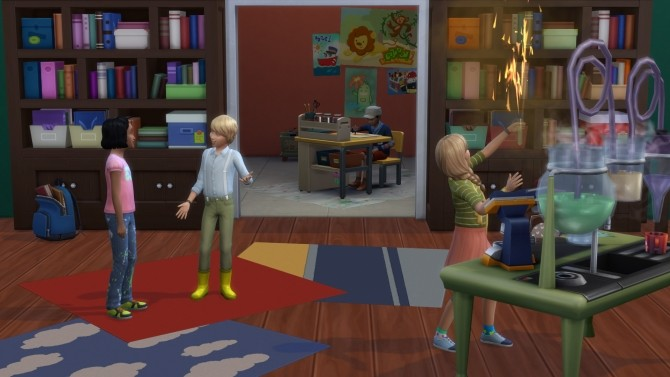Sims 4 Grade School from Home by NoelleBellefleur at Mod The Sims