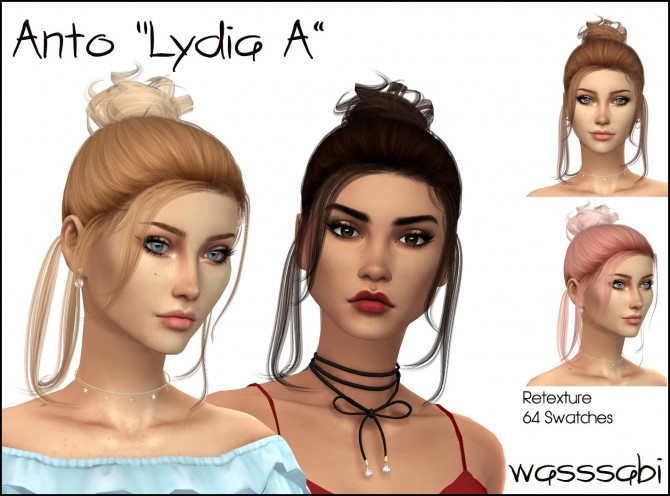 Antos Lydia Hair Retexture Version A at Wasssabi Sims image 15118 670x496 Sims 4 Updates