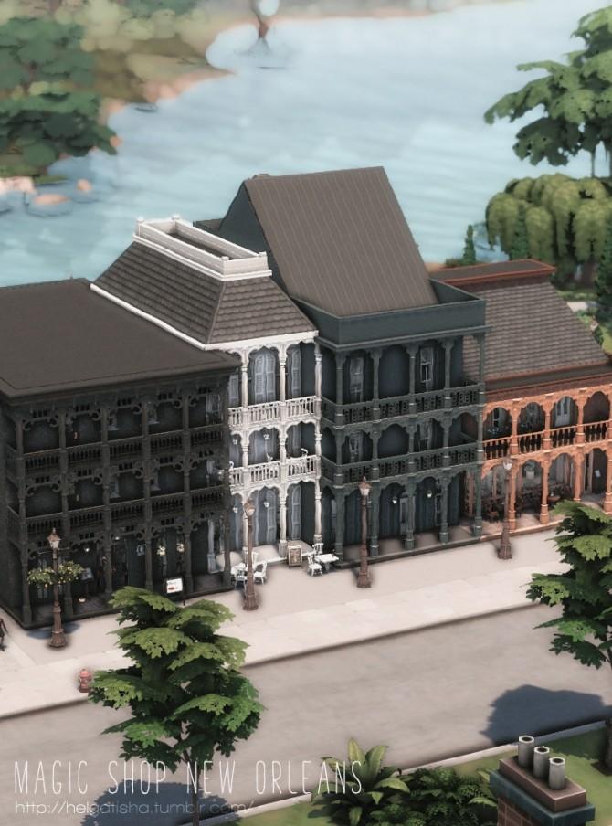 Magic Shop New Orleans at Helga Tisha image 1512 670x904 Sims 4 Updates