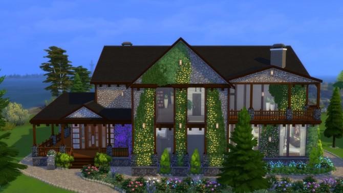 Sims 4 Celebrity house by Viktoriya9429 at Mod The Sims