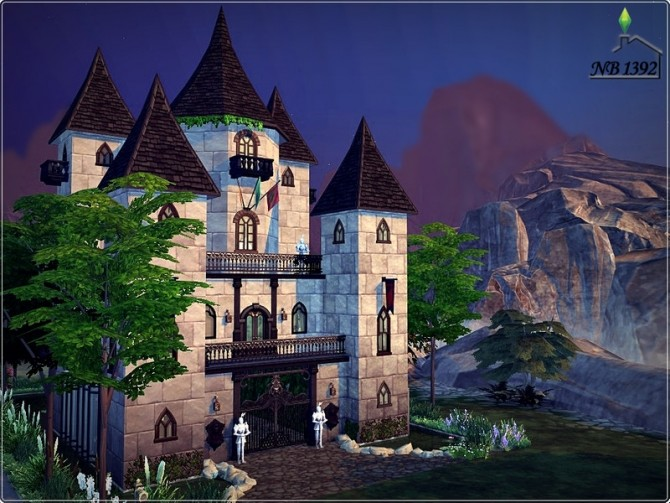 Ophelia Castle by nobody1392 at TSR image 1516 670x503 Sims 4 Updates