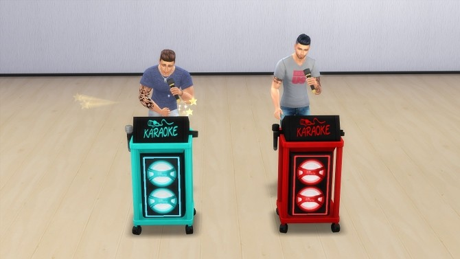 Sims 4 Karaoke devices by hippy70 at Mod The Sims