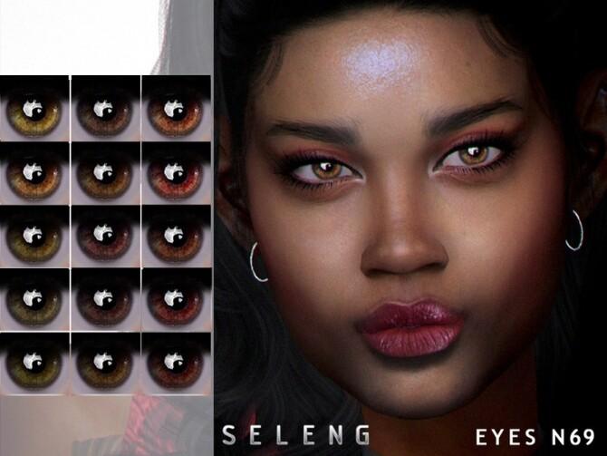 Sims 4 Eyes N69 by Seleng at TSR