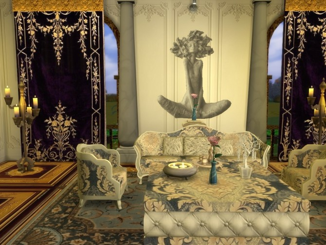 Everlasting Silverado Set Sofa, ArmChair, Table and Sculptures at Anna Quinn Stories image 1542 670x503 Sims 4 Updates