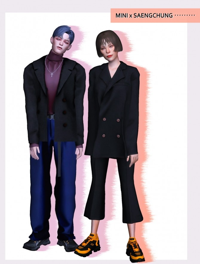 Sims 4 Spring Collaboration at MINI SIMS