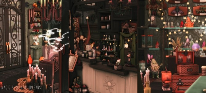 Magic Shop New Orleans at Helga Tisha image 1551 670x302 Sims 4 Updates